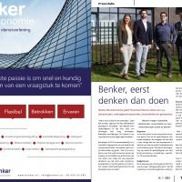 Bedrijfspresentatie Benker in Topic magazine